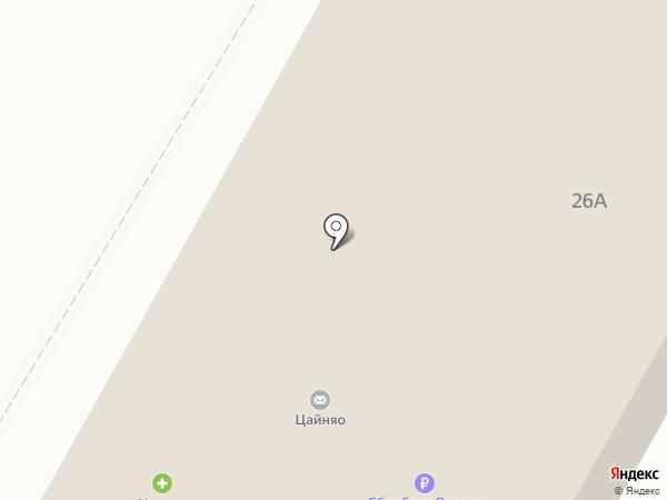 Сакура на карте Набережных Челнов