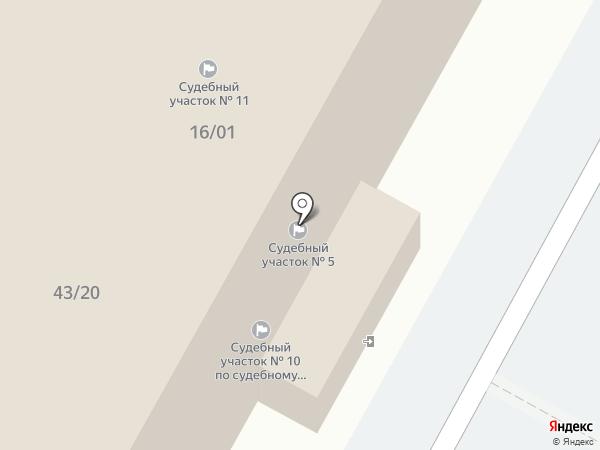 Аппарат мировых судей г. Набережные Челны на карте Набережных Челнов