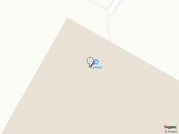 Бумер на карте Набережных Челнов
