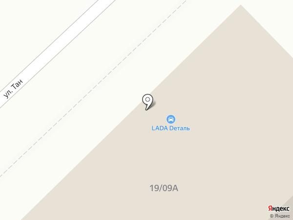 Тая на карте Набережных Челнов