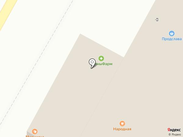 ЧелныФарм на карте Набережных Челнов