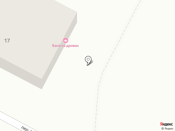 Баня на дровах на карте Набережных Челнов