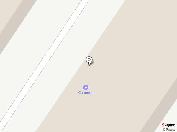 Сварнов на карте Набережных Челнов
