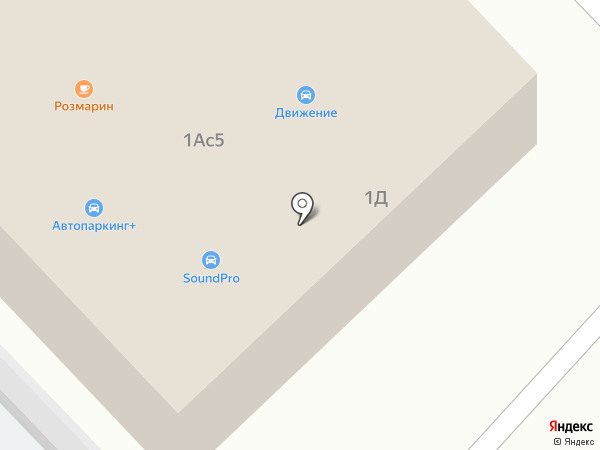 Квартет на карте Набережных Челнов