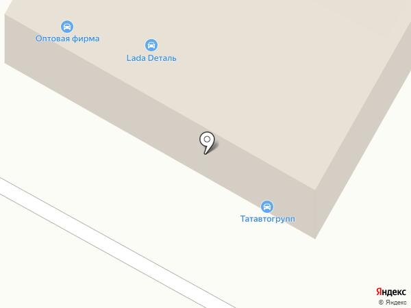 Татавтогрупп на карте Набережных Челнов