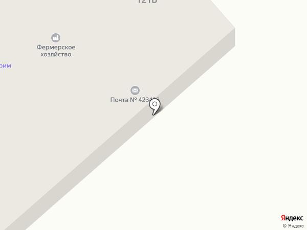 Почтовое отделение на карте Альметьевска