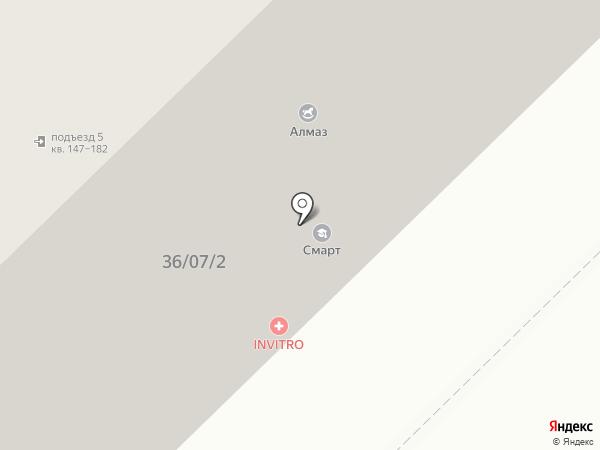 Smart на карте Набережных Челнов