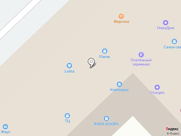 KOMANDOR на карте Набережных Челнов