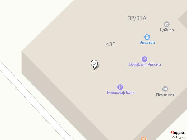 Ложка на карте Набережных Челнов