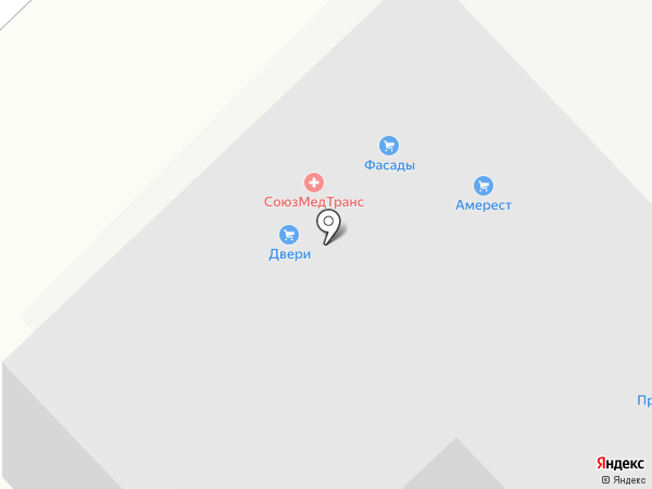 Терра-Строй на карте Набережных Челнов