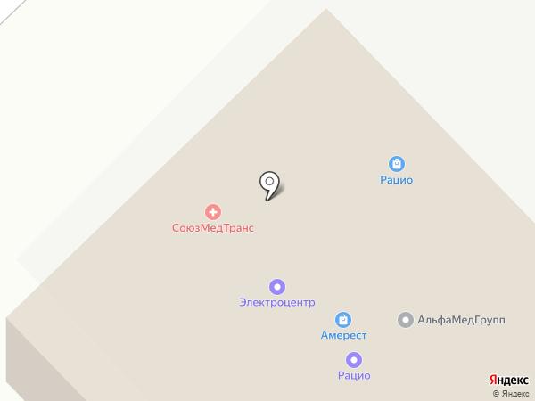 РАЦИО на карте Набережных Челнов