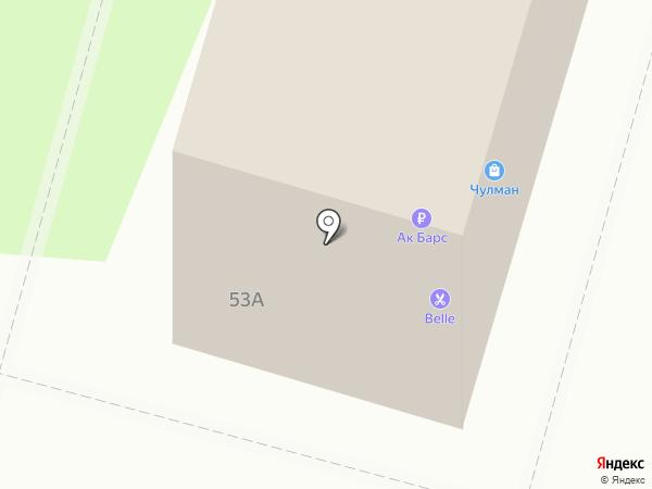 Швейная мастерская на карте Набережных Челнов