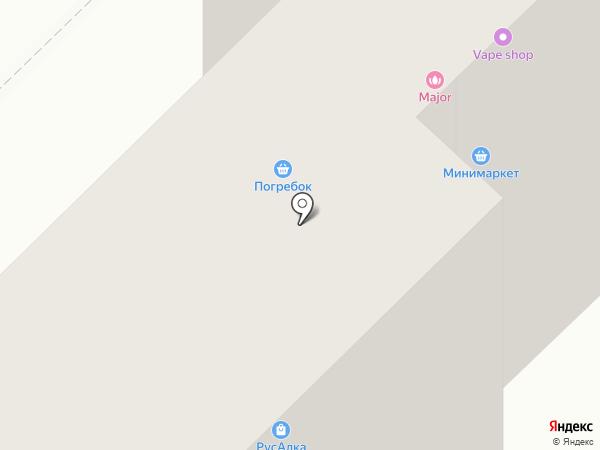 Погребок на карте Набережных Челнов