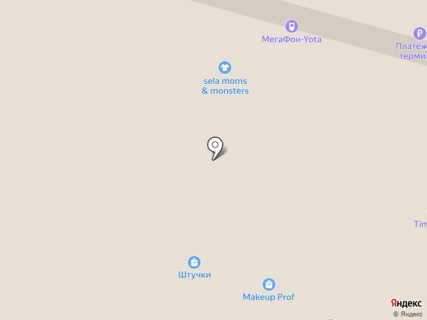 Магнит на карте Набережных Челнов
