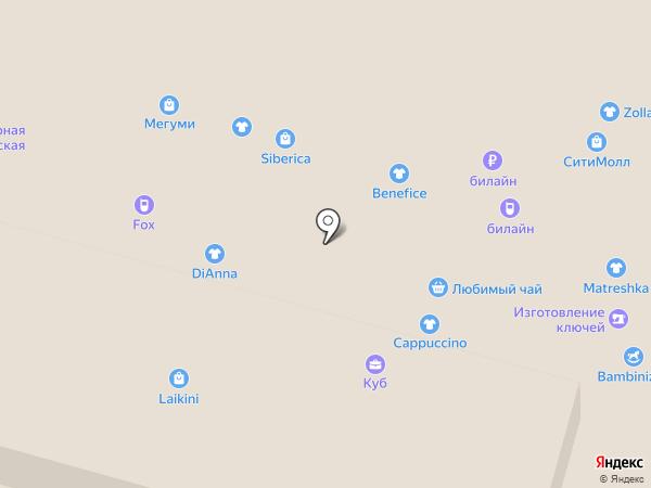 Билайн на карте Набережных Челнов