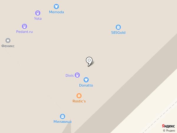 Проспект на карте Набережных Челнов