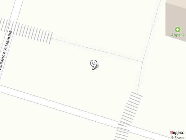 Киоск фастфудной продукции на карте Набережных Челнов