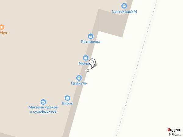 Брецель на карте Набережных Челнов