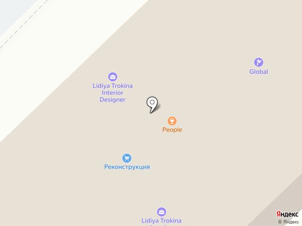 Эл Кредо на карте Набережных Челнов