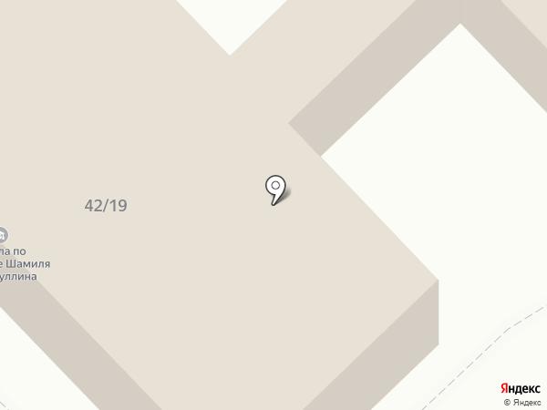 Камсвет на карте Набережных Челнов