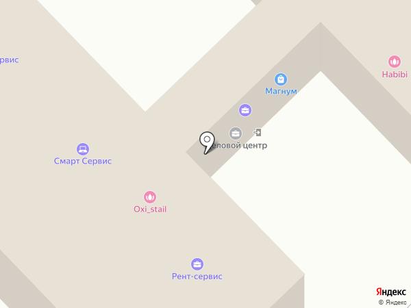 Робот на карте Набережных Челнов