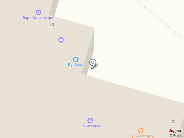 ЦУУ на карте Набережных Челнов