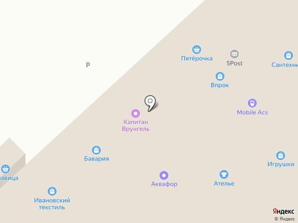 Пенная коллекция на карте Набережных Челнов