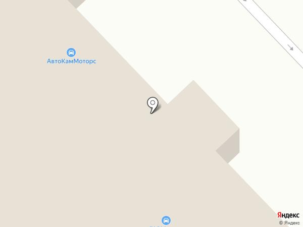 Бренд-Авто на карте Набережных Челнов