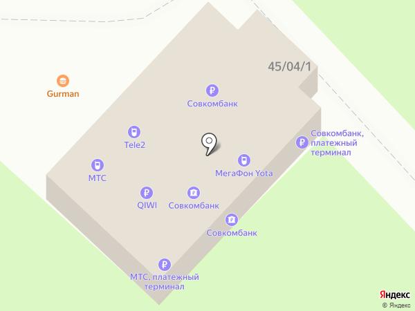 Связной на карте Набережных Челнов
