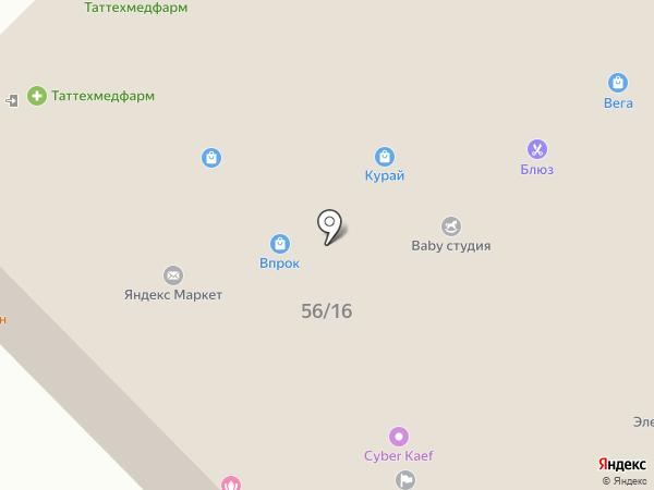 Сеть аптек на карте Набережных Челнов