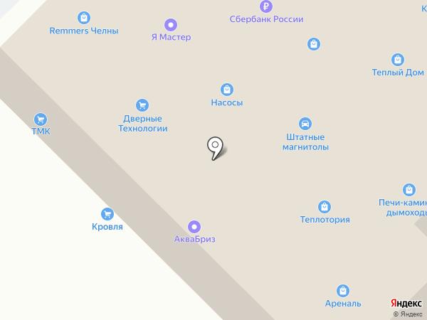 Всё для бани на карте Набережных Челнов