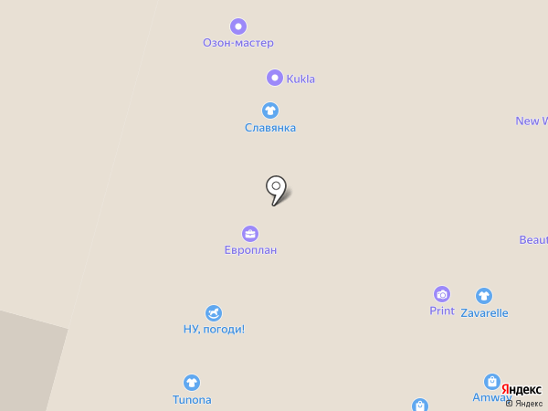 Европлан, ПАО на карте Набережных Челнов