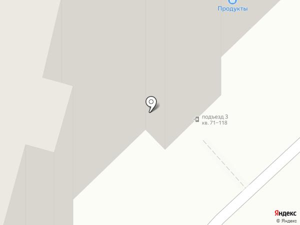 Продуктовый магазин на карте Набережных Челнов