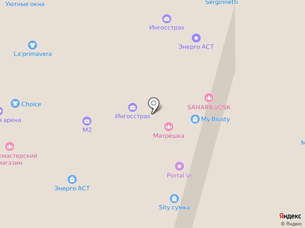 Сальвадор Дали на карте Набережных Челнов