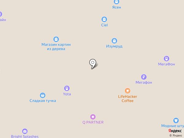 Резерв на карте Набережных Челнов