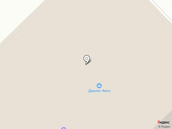 Диалог-авто на карте Набережных Челнов