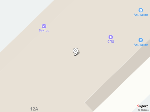 Аликанте на карте Набережных Челнов