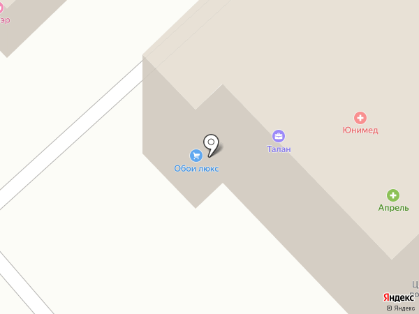 ЮНИМЕД на карте Набережных Челнов