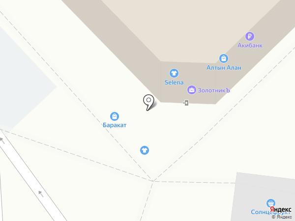 Белладонна на карте Набережных Челнов