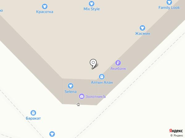 Aks16 на карте Набережных Челнов