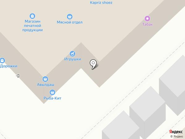 Магазин детской верхней одежды на карте Набережных Челнов