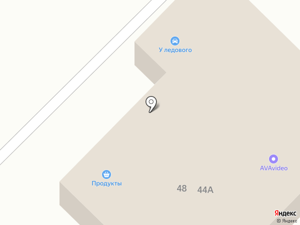 Челнымастер-трак на карте Набережных Челнов