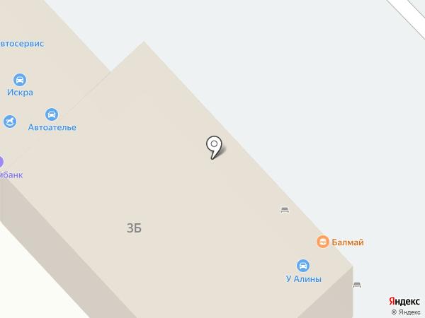 У Алины на карте Набережных Челнов