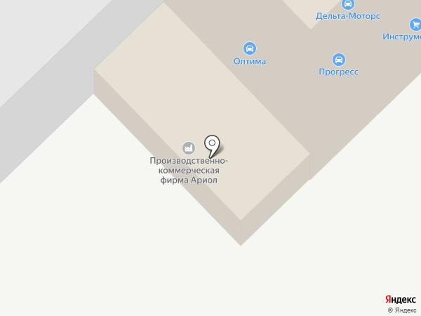 Транспортная компания на карте Набережных Челнов