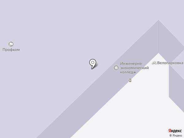 Инженерно-экономический колледж на карте Набережных Челнов