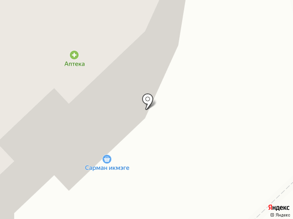 А.Р.М. на карте Набережных Челнов