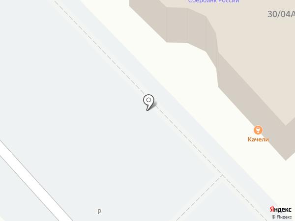 Качели на карте Набережных Челнов