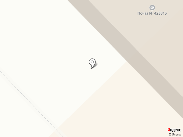 Магазин автомасел на карте Набережных Челнов