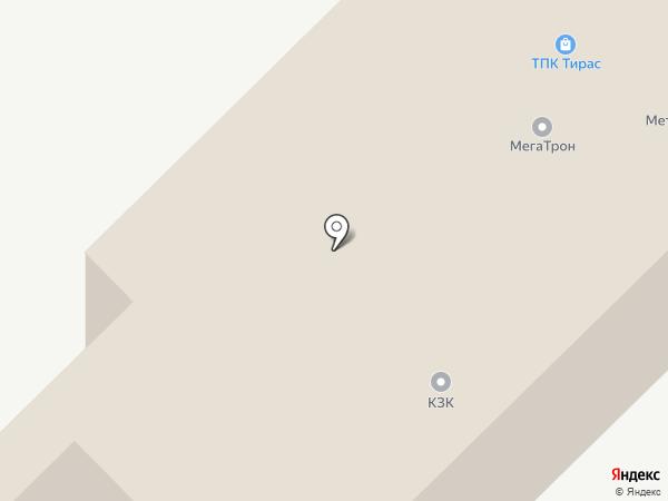 Автодвор на карте Набережных Челнов