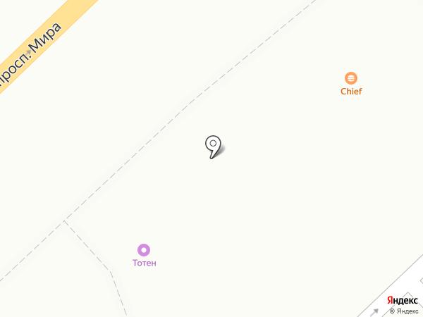 Магазин фастфудной продукции на карте Набережных Челнов